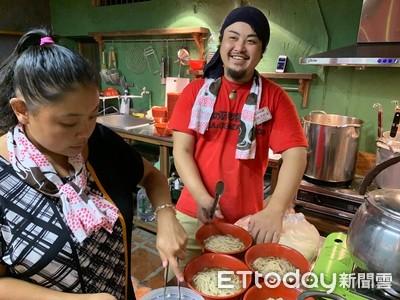 基隆和平島飄起沖繩風! 邀日本拉麵職人Eigo親煮「風車拉麵」