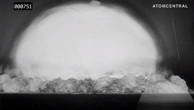 人類首次「三位一體」核試驗 數位修復高清影片曝光!