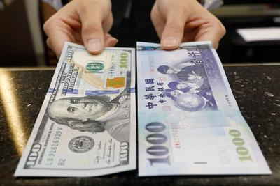 新台幣開盤貶值0.8分 以30.58元兌1美元開出