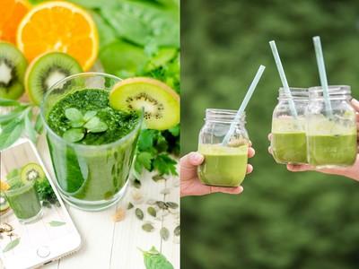 早上戒了咖啡吧!歐美流行「綠拿鐵」排毒助消化 輕鬆喝出扁平小腹