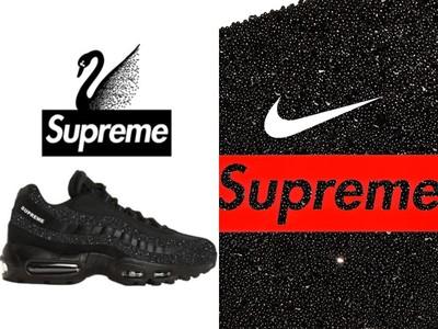 這雙Air Max 95肯定會搶翻!Supreme x Nike x 施華洛世奇三方聯名曝光