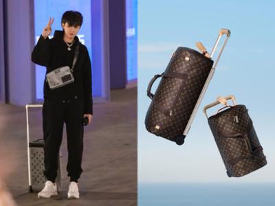 說・流行/LV找大師打造2900公克「輕軟行李箱」 吳亦凡拿著飛天超帥