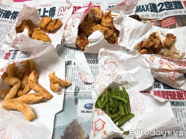 ▲▼鹽酥雞、鹹酥雞、炸物。(圖/記者陳俊宏攝)