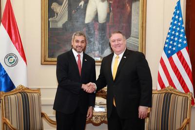 美國務卿訪巴拉圭 與總統談「加強台巴關係」、維護外交