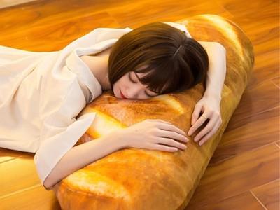 小資族必備80公分巨大「麵包抱枕」! 帶你進入香甜夢鄉~
