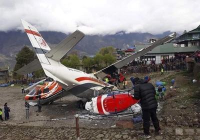飛機撞直升機!「全球最危險機場」驚爆意外...釀3死5傷