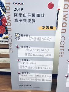 阿里山莊園咖啡精英交流賽 嘉義縣首次縣級咖啡評鑑