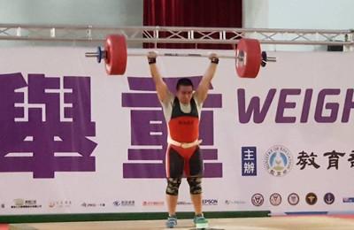 全中運/布農戰士謝孟恩抓舉、總和創2項全國 狂勝銀牌42公斤