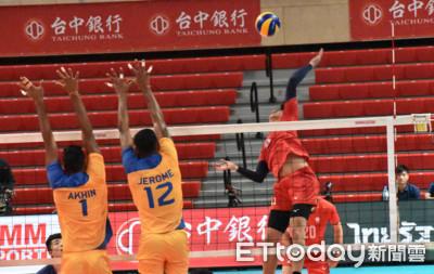 亞俱男排/中華隊五局激戰印度 2比3惜遭逆轉吞首敗