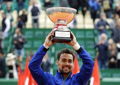 佛格尼尼蒙地卡羅大師賽奪冠 31歲再創生涯巔峰