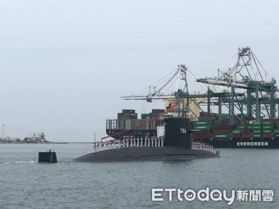 潛艦國造設備安裝完成 「IDS原型艦」11月初正式開工建造