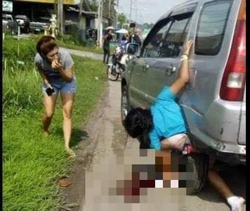慎入!少女下半身遭捲入「後車輪擋泥板」間隙...血肉模糊亡