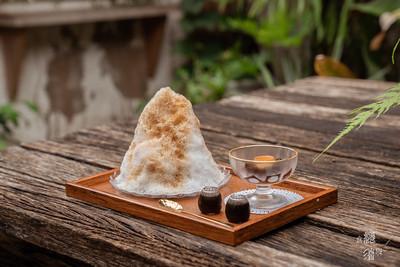 梅子刨冰細綿爽口!台中日式冰屋 還有布丁炸出濃濃蛋香