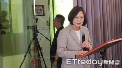 蔡英文:福衛七號是台灣太空科技發展里程碑 資料將分享國際