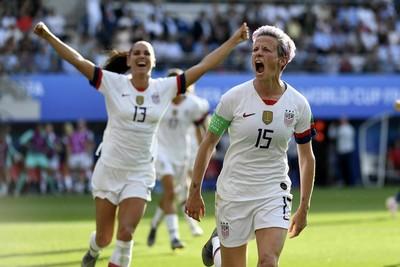 世界盃女足/美國2次12碼勝西班牙 8強碰地主法國