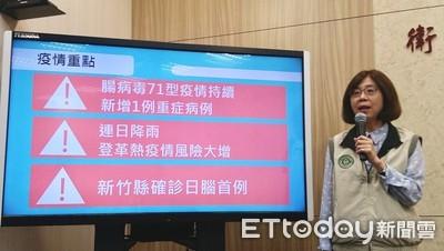 新竹縣今年首例日本腦炎!50多歲女性眼神歪斜一度被當成中風