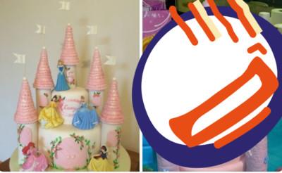 姪女生日訂粉色城堡蛋糕...到貨傻眼! 「三根OO」造型超母湯