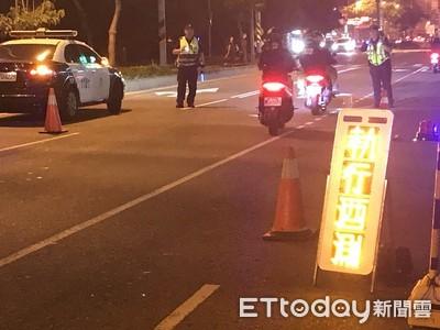 新制上路5分鐘 台北市開出首張純酒駕罰單!騎士超標犯公共危險