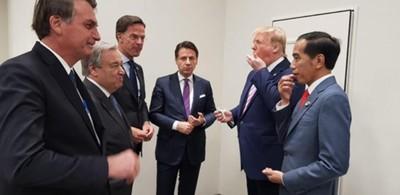 糖果外交! 川普在G20峰會請多國領導人吃糖糖!