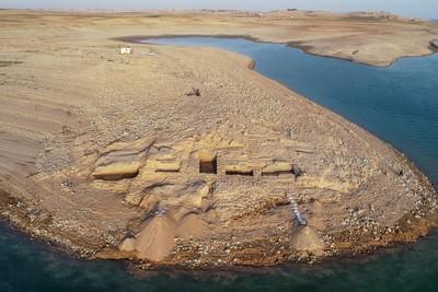 伊拉克水庫乾涸驚見3400年前古城 美索不達米亞神秘王國現身