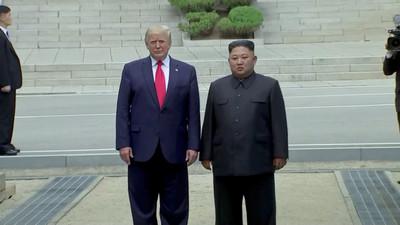 不斷更新/53分鐘閉門會議結束 川普:重啟無核化談判