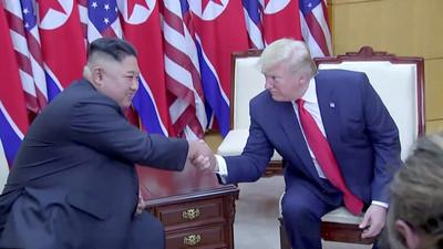 金正恩嚇到!川普:他不來「媒體會讓我難看」 展現兩國優秀關係