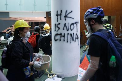 反送中示威闖立法會 川普評「看了很傷心」:港人是在追求民主
