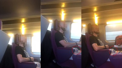 癡漢火車自慰75分鐘…尾隨女乘客到廁所 她錄影存證卻被罰更重