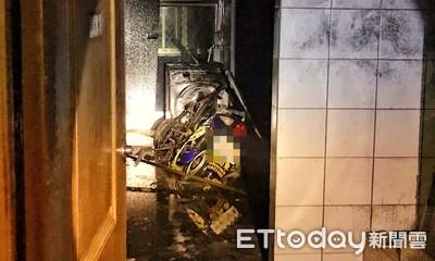 影/新北萬里國小驚傳火警 男廁疑電動機車「充電過載」引發火勢