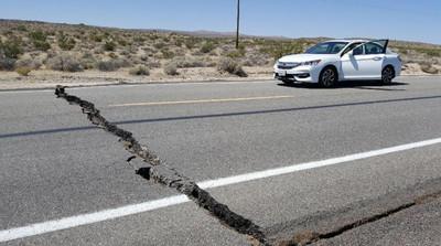 美國加州6.4地震「20年來最大」!路裂房傷至少24起事故洛杉磯民眾驚逃