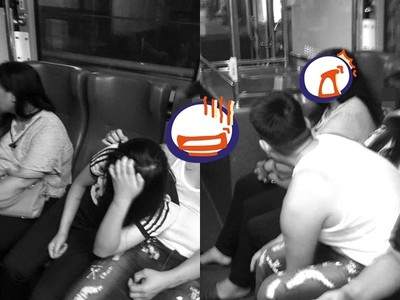 桃園男公車上強抱21歲恍惚妹!大媽狠打「頭殼壞掉?」3人行真相曝光
