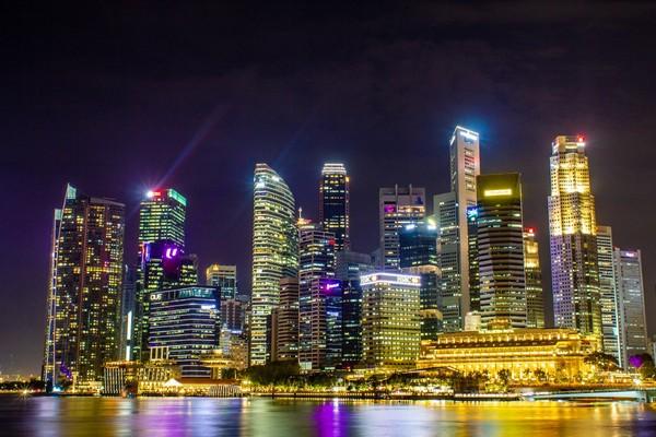 ▲新加坡的中央商務區(圖/能code能舞還能用單手設計GPU的 EJ Ho攝)