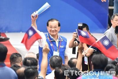連戰點頭擔任韓國瑜全國後援總會長 藍營三巨頭獲兩同意