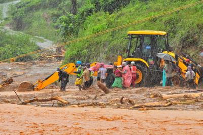 印度山體坍方讓家園全毀了! 16萬5千人「腳浸泥濘」緊急撤離躲洪災