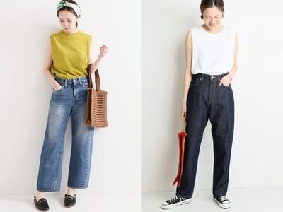 穿得少也不會顯得不拘謹 「背心 X 牛仔寬褲」同時完成涼感與時髦