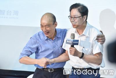 「韓張配」成軍!張善政見記者驚訝 蔡賴最快16日高雄同台