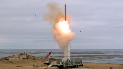 退出《中導條約》後 美首度解禁試射中程導彈
