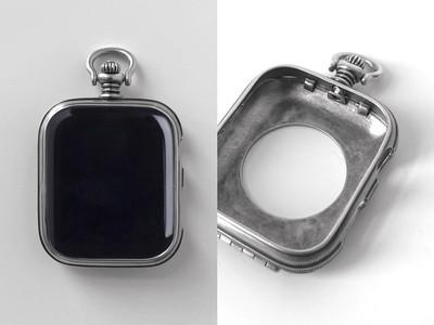 這只古董懷錶竟是Apple Watch保護殼 加上銀鍊變英倫紳士