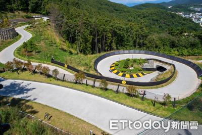 韓國統營超好玩「跑跑卡丁車」 1.5公里賽道讓你滑進無邊海景