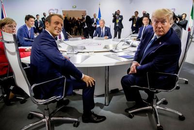 美官員酸爆馬克宏!G7拿小眾議題給川普難堪 只為迎合法國人