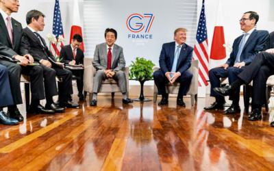日美貿易談妥拚9月簽署協定 川普:安倍會買美國過剩穀物