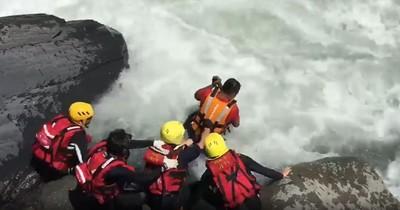 「新北消防用生命在找你」驚險搜救畫面曝 網讚:你們是英雄