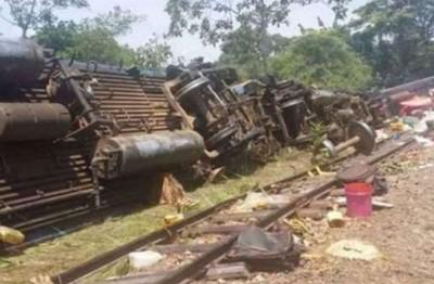 剛果火車出軌50死!逃票旅客受困車內 死亡人數恐再攀升