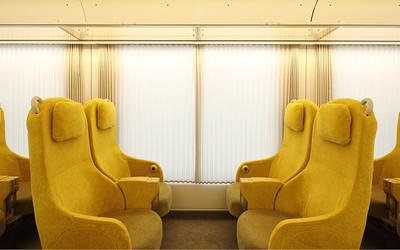 上車就像回到自家客廳 名建築師巧手打造日本列車「Laview」