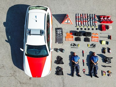 「裝備開箱」源頭曝光!瑞士蘇黎世警局一張照 意外引爆全球跟風