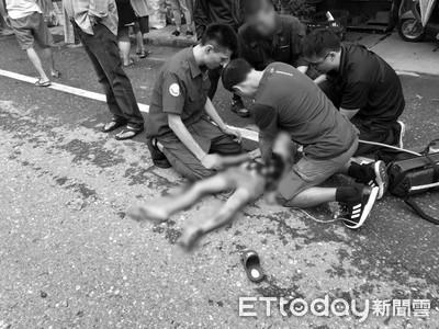 花蓮7歲童被重機撞飛慘死!父深夜「悲痛276字」發文:別讓我受到二次傷害