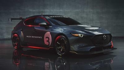馬自達公布「Mazda 3 TCR賽車」!350匹渦輪動力、541萬起