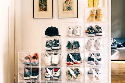 巧妙炫耀整片鞋 RCKZ鑽石鞋盒打造有型展示牆