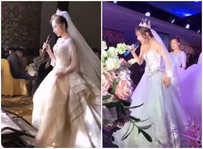 仙女新娘婚禮唱鄧紫棋的歌! 一開口「全場瘋狂尖叫」…網全跪:以為在看演唱會