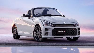 大發性能敞篷跑車「Copen GR Sport」發表 TOYOTA 賽車部門操刀